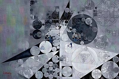 Abstract Painting - Black Pearl Art Print