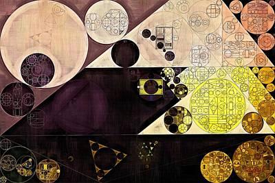 Abstract Painting - Chamois Art Print by Vitaliy Gladkiy