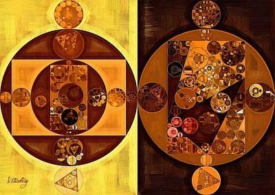 Abstract Painting - Cream Can Art Print by Vitaliy Gladkiy