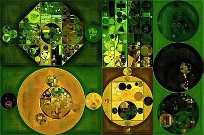 Abstract Creations Digital Art - Abstract Painting - Dell by Vitaliy Gladkiy