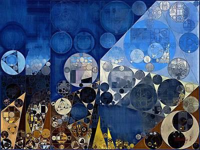 Abstract Painting - Endeavour Art Print by Vitaliy Gladkiy