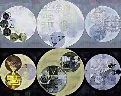Ornamental Digital Art - Abstract Painting - Iron by Vitaliy Gladkiy