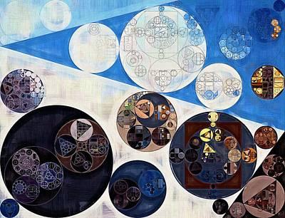 Fanciful Digital Art - Abstract Painting - San Marino by Vitaliy Gladkiy