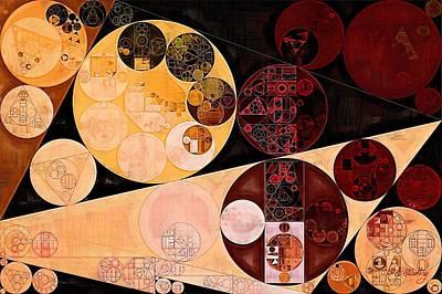 Art Print featuring the digital art Abstract Painting - Tacao by Vitaliy Gladkiy