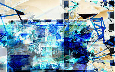 Digital Art - Abstract Play by Art Di
