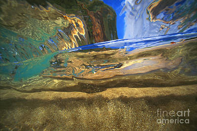 Abstract Underwater View Art Print by Vince Cavataio - Printscapes