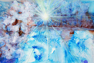 Photograph - Abstract Watercolour Painting by Tara Thelen