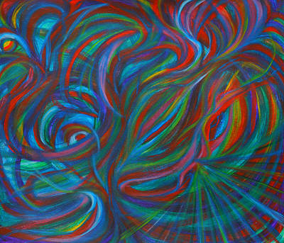 Intergalactic Painting - Abstracting Nature by Night Maher