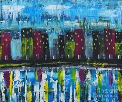 Painting - Abstract_untitled by Jimmy Clark