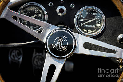 Photograph - Ac Cobra by Dennis Hedberg