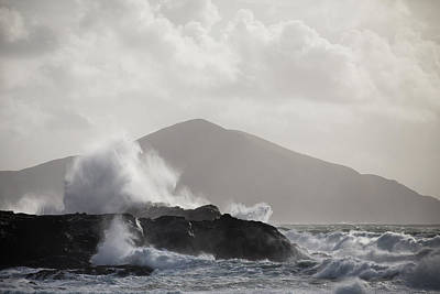 Photograph - Achill Island Waves by Peter McCabe
