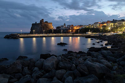Castello Photograph - Aci Castello - Sicily by Joana Kruse