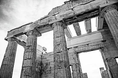Photograph - Acropolis Of Athens by Michael Maximillian Hermansen