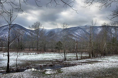 Photograph - Across The Winter Valley by Mike Eingle