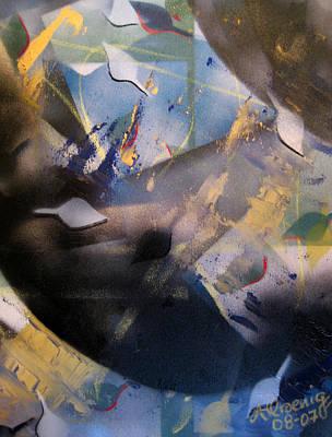 Activated Charcoal Art Print by Andrea Noel Kroenig