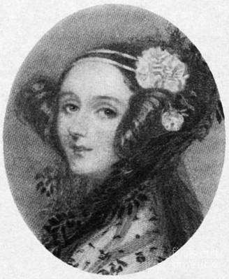 Ada Photograph - Ada Lovelace by Science Source