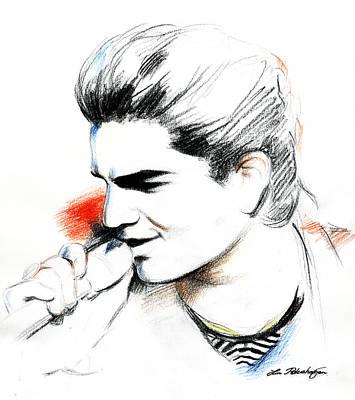 Adam Lambert Art Print