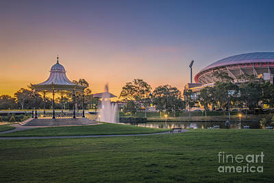 Photograph - Adelaide Sunset by Ray Warren