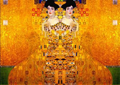 1907 Digital Art - Adele Bloch-bauer 1907 by Gustav Klimt