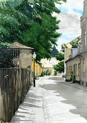 Painting - Adelgatan by Erik Lundgren