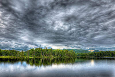 Photograph - Adirondack Serenity by David Patterson