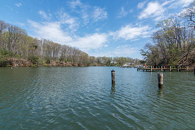 Photograph - Weems Creek Annapolis, Md by Charles Kraus