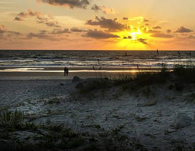 Photograph - Admiring Sunrise by David Cabana