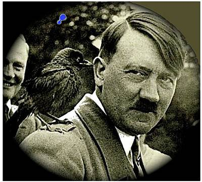 Photograph - Adolf Hitler And A Feathered Friend C.1941-2008 by David Lee Guss