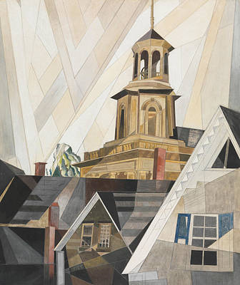 Drawing - After Sir Christopher Wren by Charles Demuth