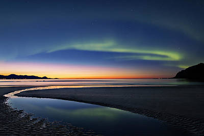 Photograph - After Sunset II by Frank Olsen