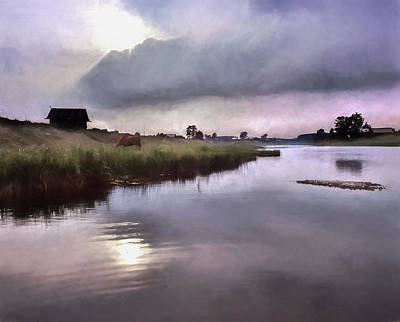 Photograph - After The Rain Storm by Vladimir Kholostykh