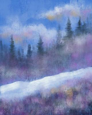 Wall Art - Digital Art - After The Snow by David G Paul
