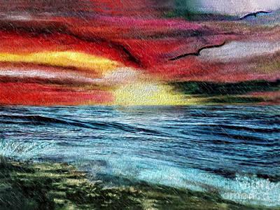 Digital Art - After The Storm by Laurel D Rund