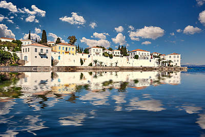 Spetses Photograph - Agios Nikolaos In Spetses Island - Greece by Constantinos Iliopoulos