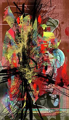 Agitation Art Print