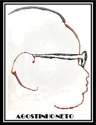 Agostinho Neto Art Print