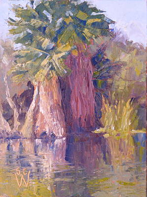 Painting - Agua Caliente by Susan Woodward