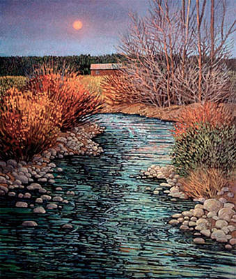 Painting - Agua Fria by Donna Clair