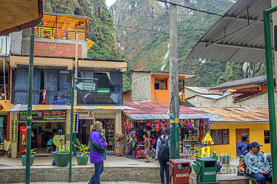 Photograph - Aguas Calientes by Patricia Hofmeester