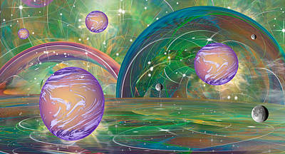 Loon Digital Art - Aigxactly by Phil Sadler