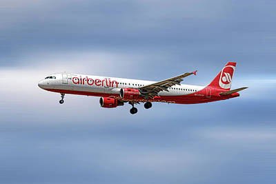 City Mixed Media - Air Berlin Airbus A321-211 by Smart Aviation