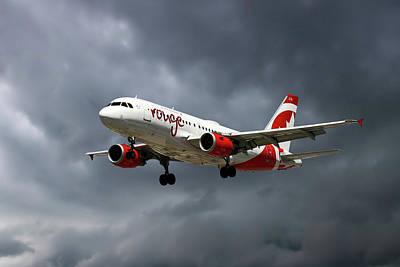 Air Canada Rouge Airbus A319-114 Art Print