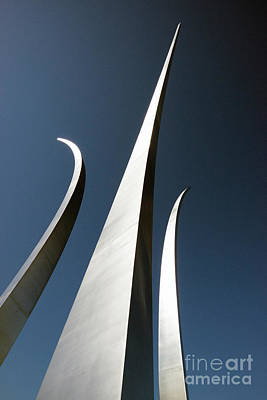 Photograph - Air Force Monument - Arlington by Paul W Faust - Impressions of Light