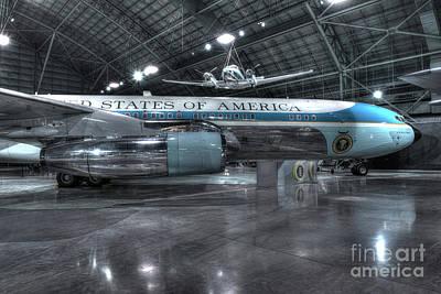 Air Force One - Boeing Vc-137c, Sam 26000 Art Print