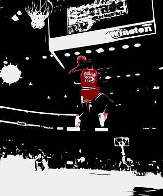 Air Jordan 1988 Slam Dunk Contest Art Print