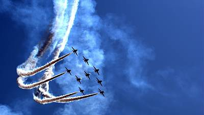 Nature Digital Art - Air Show by Super Lovely
