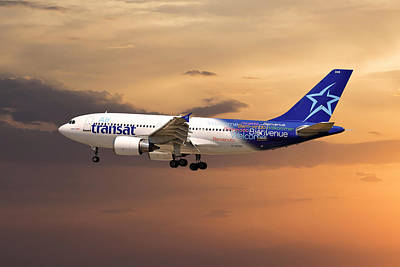 Air Transat Art Print