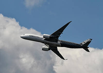 Photograph - Airbus A350 by Shirley Mitchell