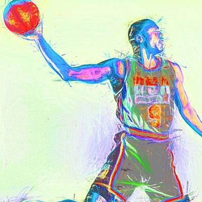 Basketball Photograph - #airjordan #jordan #jordans #art by David Haskett