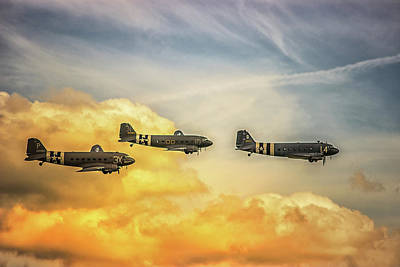 Spitfire Photograph - Airshow by Martin Newman